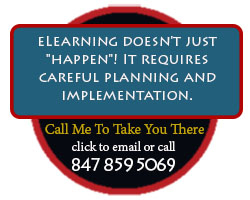 """eLearning doesn't just """"happen""""! It requires careful planning and implementation."""